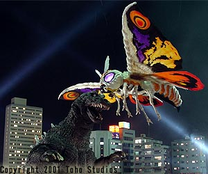 Goji vs Mothra