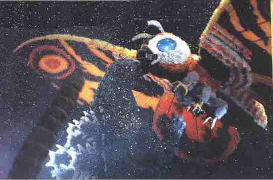 Godzilla vs. Mothra; Actual size=180 pixels wide